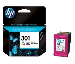 HP 301 Tri-colour Ink Cartridge
