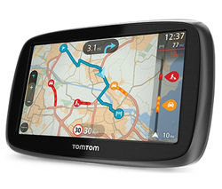 "TOMTOM GO 50 5"" GPS Sat Nav - with UK & ROI Maps"