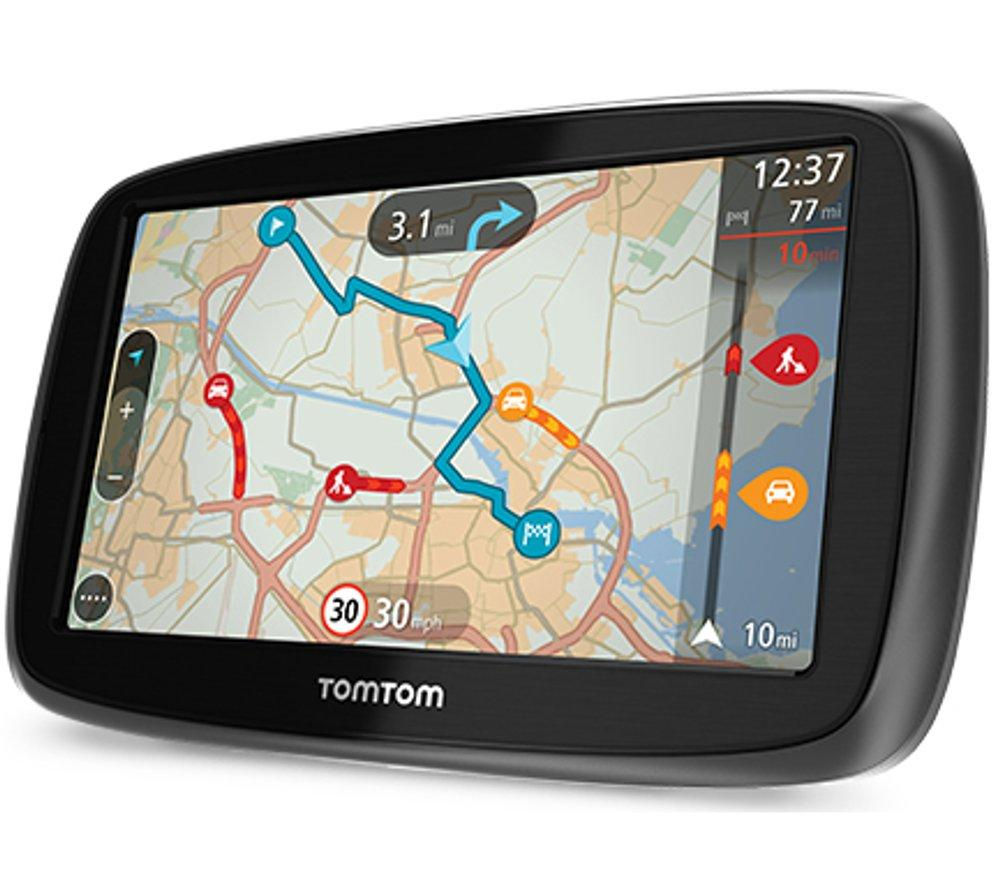 buy tomtom go 50 5 gps sat nav with uk roi maps free delivery currys. Black Bedroom Furniture Sets. Home Design Ideas