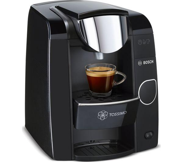 Buy TASSIMO by Bosch Joy TAS4502GB Hot Drinks Machine - Black + Costa Cappuccino T Discs - Pack ...