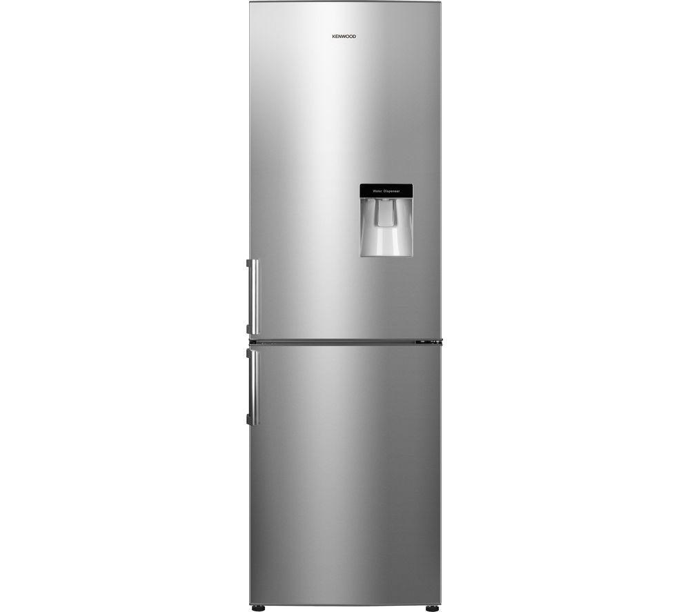 KENWOOD  KFCD60X15 Fridge Freezer - Stainless Steel +  DCX83100W Condenser Tumble Dryer - White
