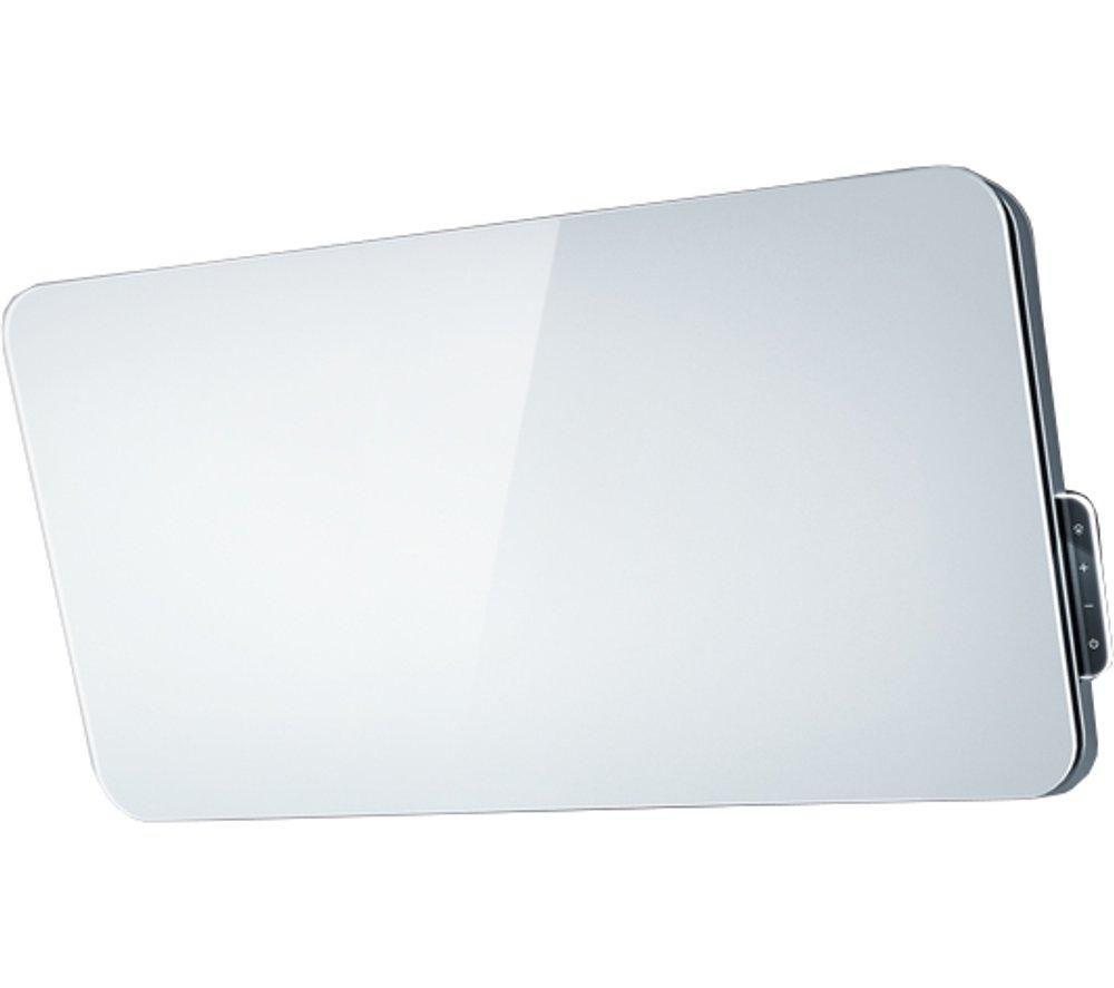 ELICA Fantasia 80 Chimney Cooker Hood -  White Glass