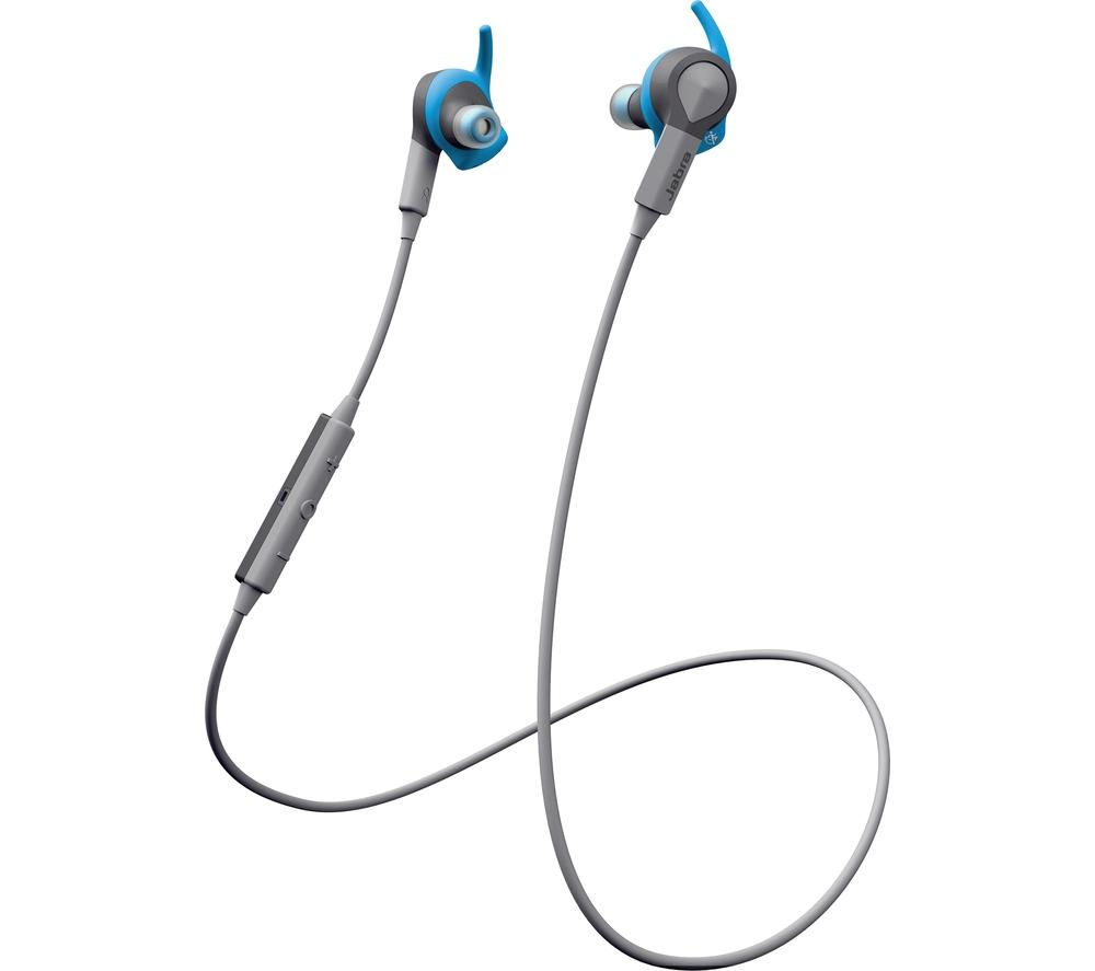 Click to view more of JABRA  Sport Coach Wireless Bluetooth Headphones - Blue, Blue