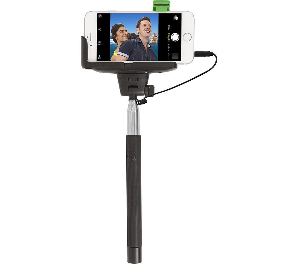 RETRAK EUSELFIEW Selfie Stick - Black & Silver