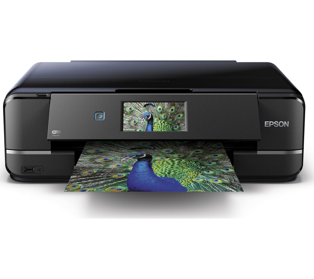EPSON Expression XP-960 All-in-One Wireless A3 Inkjet Printer + T2428 6-colour Ink Cartridges - Multipack + A4 Premium Black Label Paper - 500 Sheets