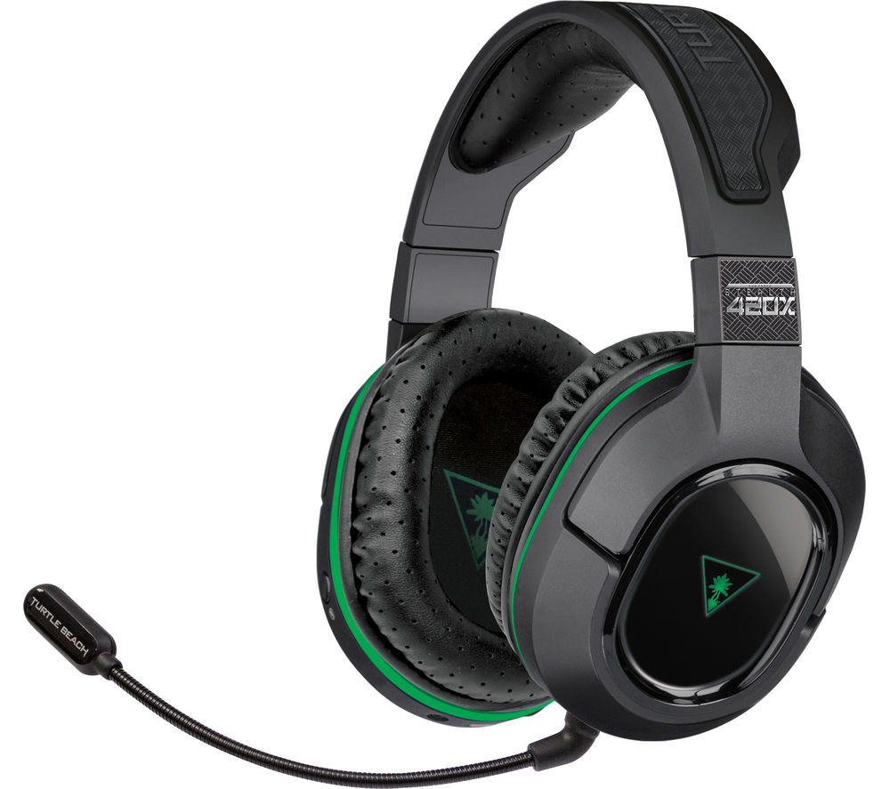 TURTLE BEACH Stealth 420X Wireless 2.0 Gaming Headset - Black & Green