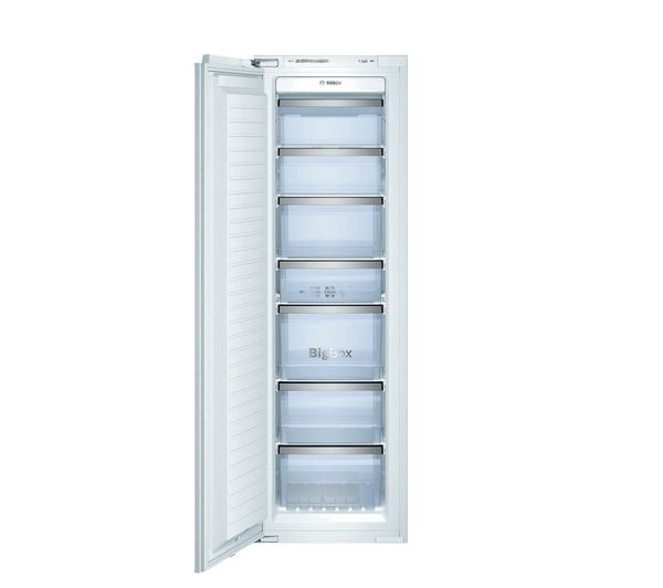 BOSCH Logixx GIN38A55GB Integrated Tall Freezer