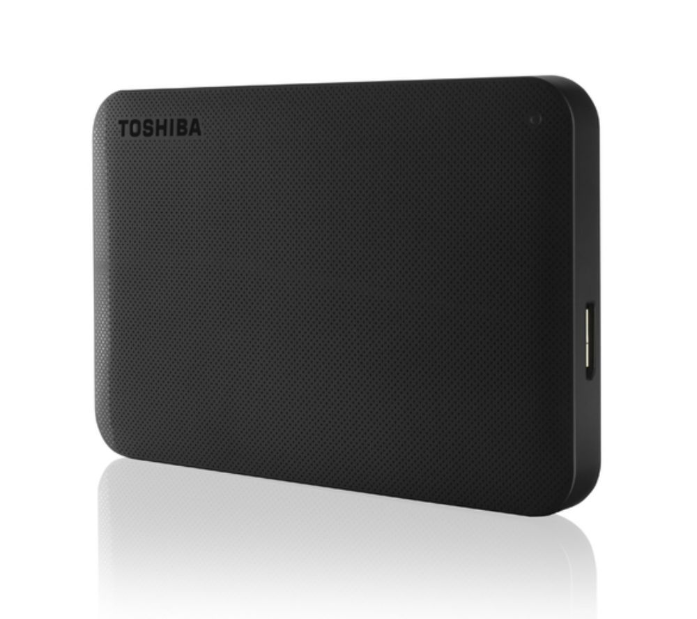 TOSHIBA Canvio Ready Portable Hard Drive - 3 TB, Black