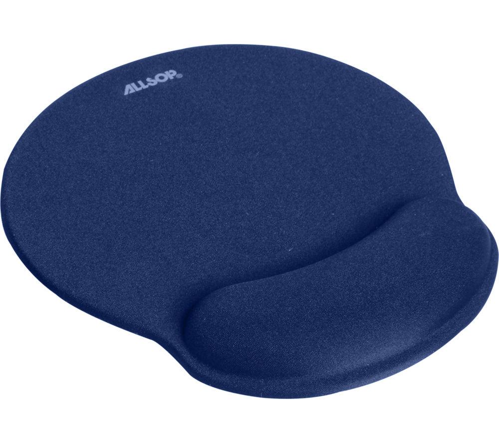ALLSOP Comfort Mouse Mat - Blue