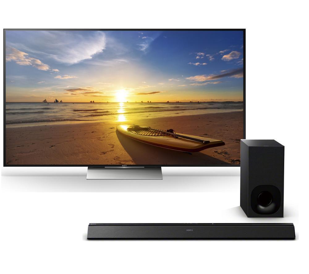 buy sony kd55xd9305bu 4k ultra hd hdr 55 led tv. Black Bedroom Furniture Sets. Home Design Ideas