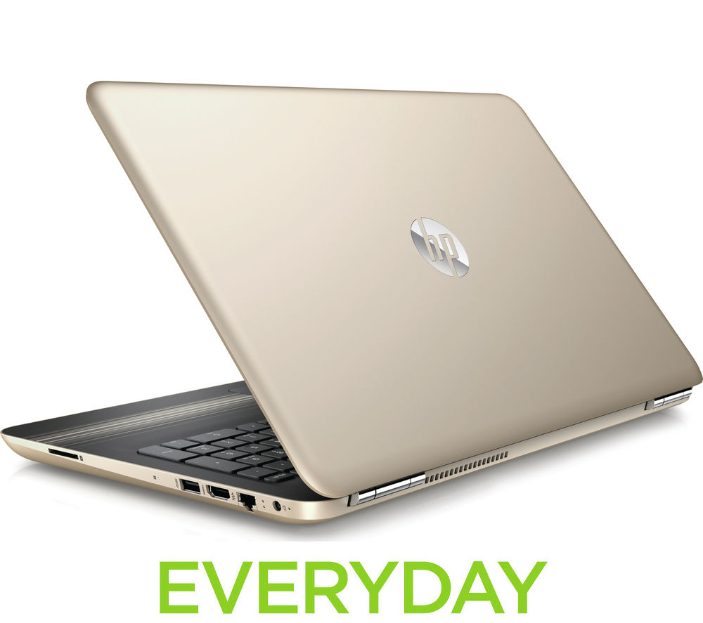 HP Pavilion 15au068sa 15.6 Laptop  Gold