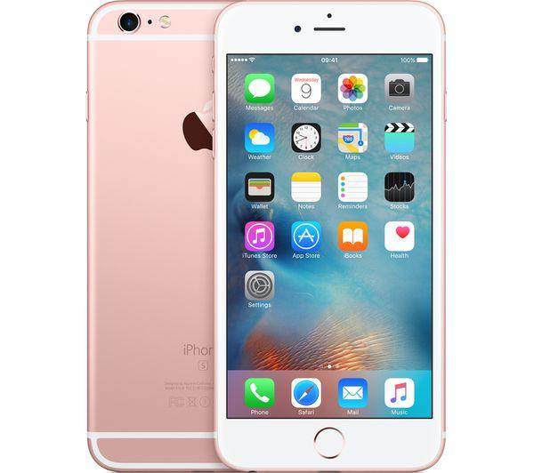 apple iphone 6s plus 32 gb rose gold lightning to 30. Black Bedroom Furniture Sets. Home Design Ideas