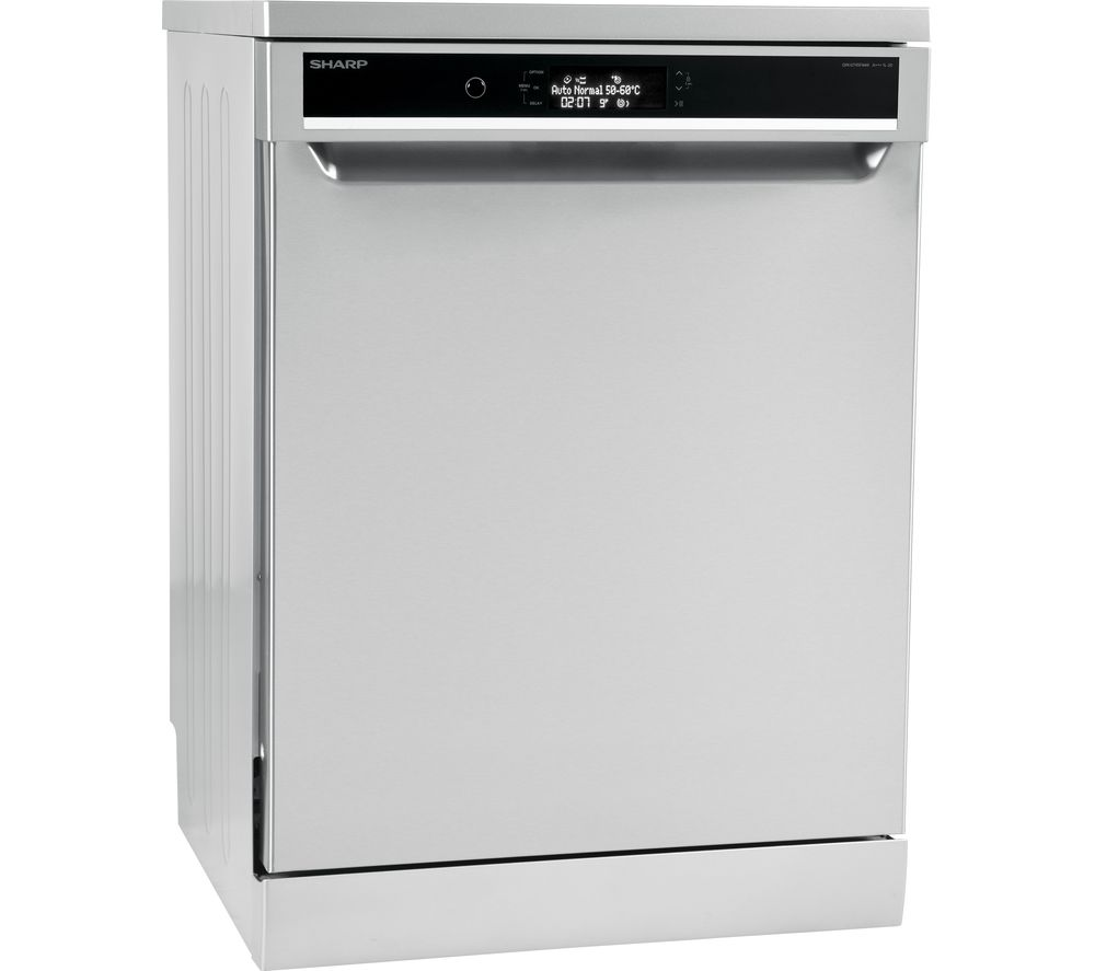 SHARP  QWGT45F444I Fullsize Dishwasher  Stainless Steel Stainless Steel