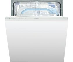Indesit DIF 16B1 Integrated Dishwasher - White