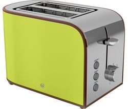 SWAN Retro ST17020LN 2-Slice Toaster - Lime