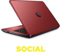"HP 14-an062sa 14"" Laptop - Red"