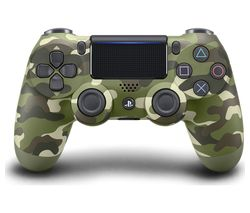PLAYSTATION 4 DualShock 4 V2 Wireless Controller - Green Camo
