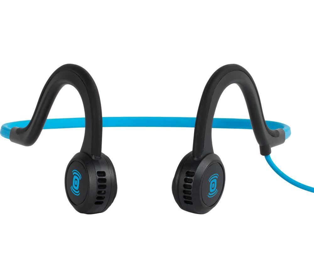 Image of AFTERSHOKZ Sportz Titanium Headphones - Ocean, Titanium