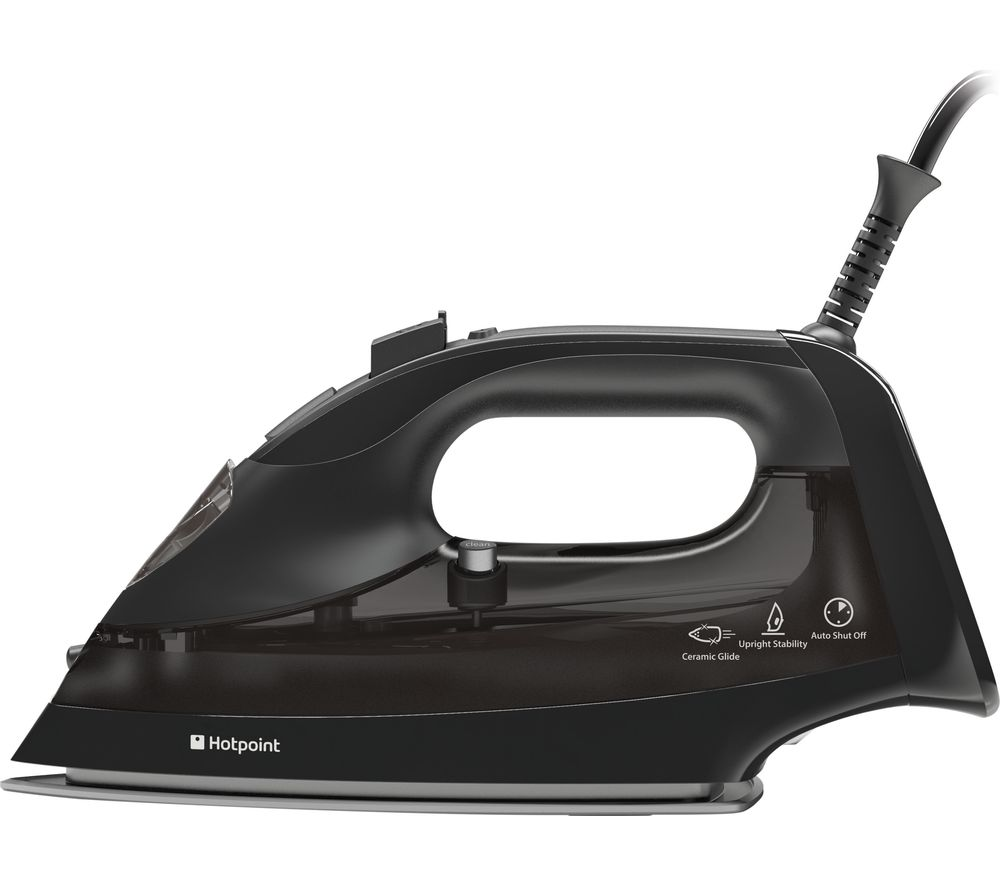 buy hotpoint si e40 ba1 steam iron black free delivery currys. Black Bedroom Furniture Sets. Home Design Ideas