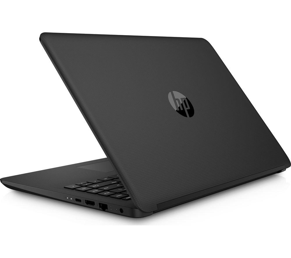 "HP 14-bp061sa 14"" Laptop - Jet Black + Office 365 Home + LiveSafe Unlimited 2017 - 1 year"