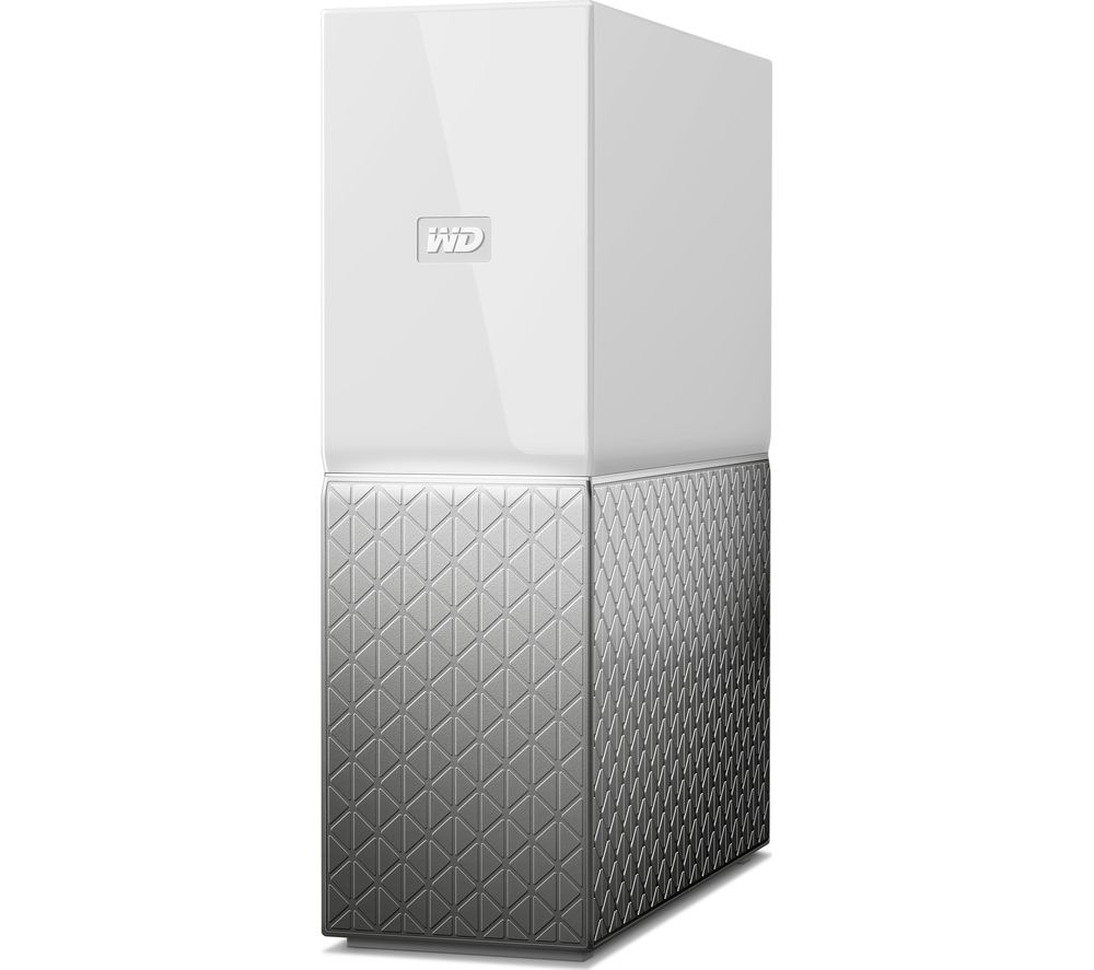 wd my cloud home nas drive 4 tb white deals pc world. Black Bedroom Furniture Sets. Home Design Ideas