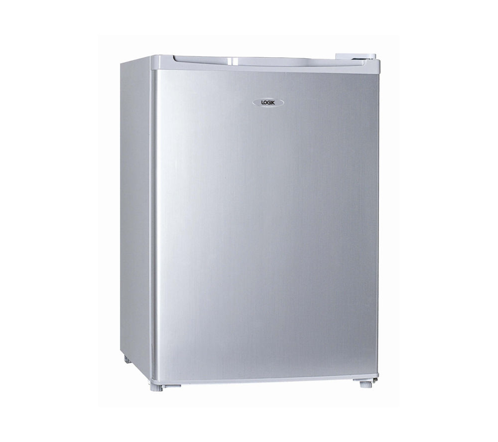 LOGIK  LTT68S12 Mini Fridge - Silver +  L712WM13 Washing Machine - White