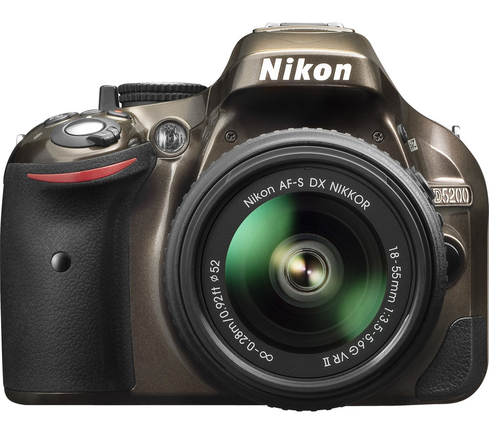 NIKON D5200 DSLR Camera with 18-55 mm f/3.5-5.6 VR Zoom Lens