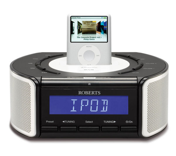 clock radios best clock radios offers pc world. Black Bedroom Furniture Sets. Home Design Ideas