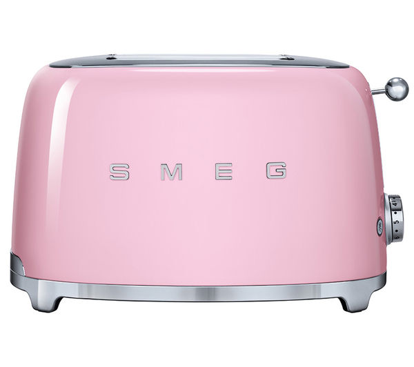 TSF01PKUK  SMEG TSF01PKUK 2 Slice Toaster  Pink  PC World Business