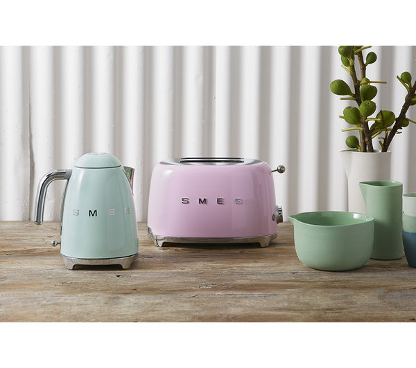 your SMEG TSF01PKUK 2 Slice Toaster  Pink from only ?25 00 More info