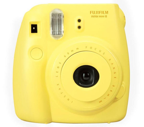 Buy FUJIFILM Instax Mini 8 Instant Camera & 10 Shot Bundle ...