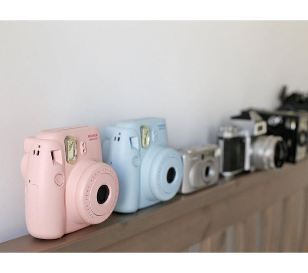 buy fujifilm instax mini 8 instant camera 10 shot bundle. Black Bedroom Furniture Sets. Home Design Ideas