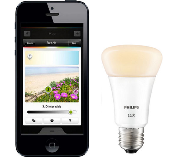 buy philips hue lux personal wireless lighting single bulb free. Black Bedroom Furniture Sets. Home Design Ideas