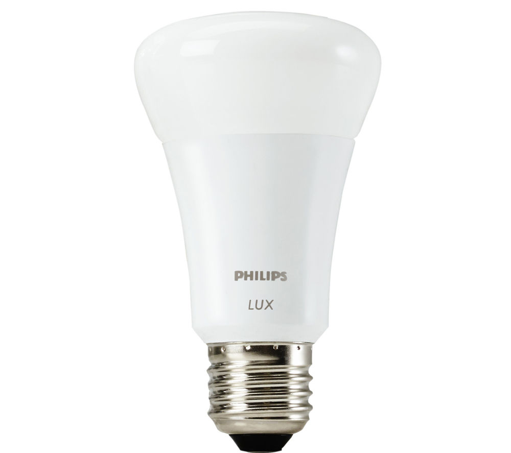 buy philips hue lux personal wireless lighting single bulb free delivery currys. Black Bedroom Furniture Sets. Home Design Ideas