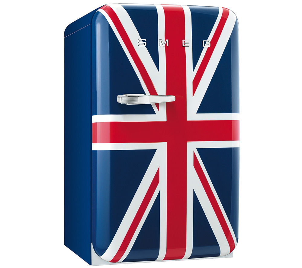 buy smeg fab10ruj tall fridge union jack free delivery currys. Black Bedroom Furniture Sets. Home Design Ideas
