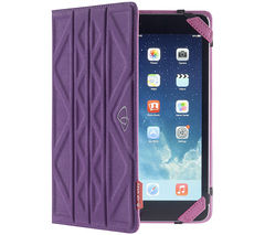 "TECHAIR TAXUT022 Folio Flip & Reverse 7"" Tablet Case - Pink & Purple"
