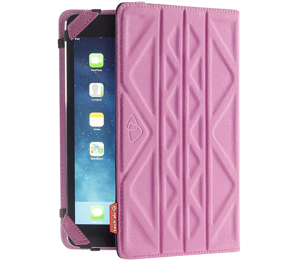 "Image of TECHAIR TAXUT022 Folio Flip & Reverse 7"" Tablet Case - Pink & Purple"