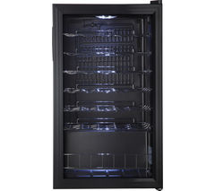 LOGIK LWC34B15 34 Bottles Wine Cooler (Black)