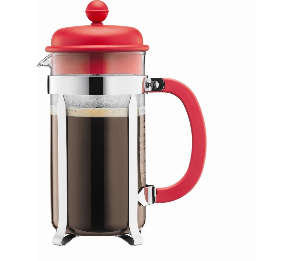 BODUM  Caffettiera 1918-294 Coffee Maker - Red, Red