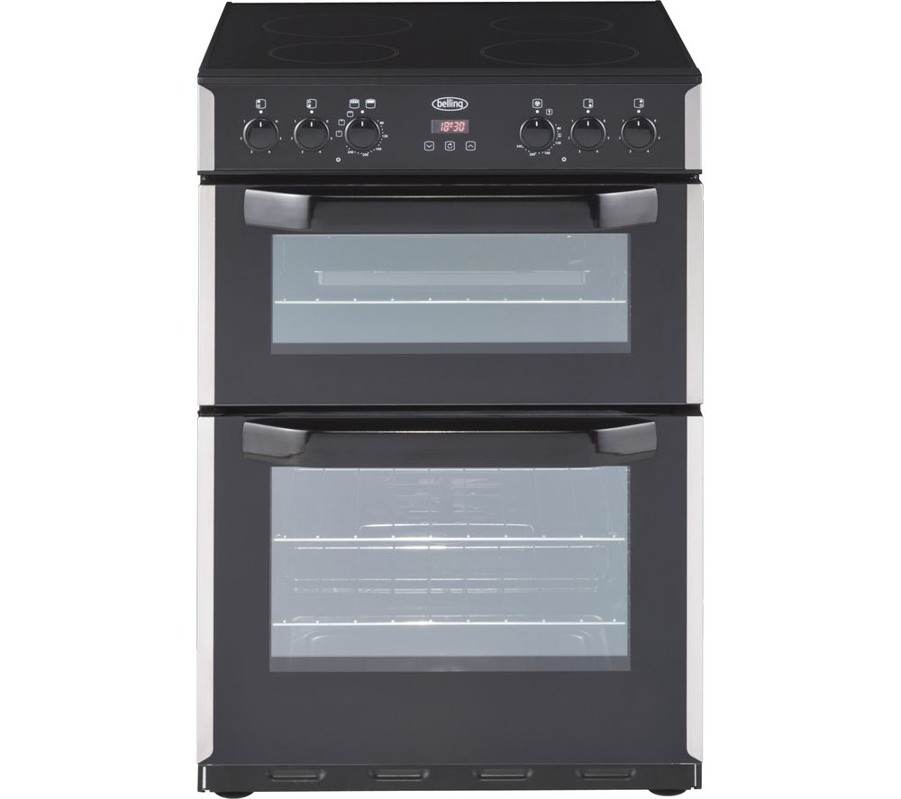BELLING CFE60DOP 60 cm Electric Cooker - Stainless Steel