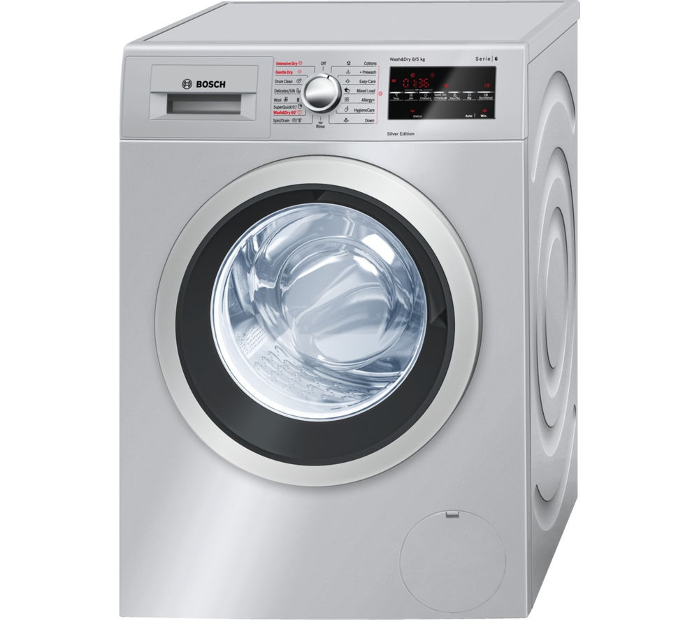 Bosch Dryer: Buy BOSCH Serie 6 WVG3046SGB Washer Dryer - Silver