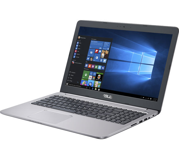 """Image of ASUS K501UB 15.6"""" Laptop - Grey"""