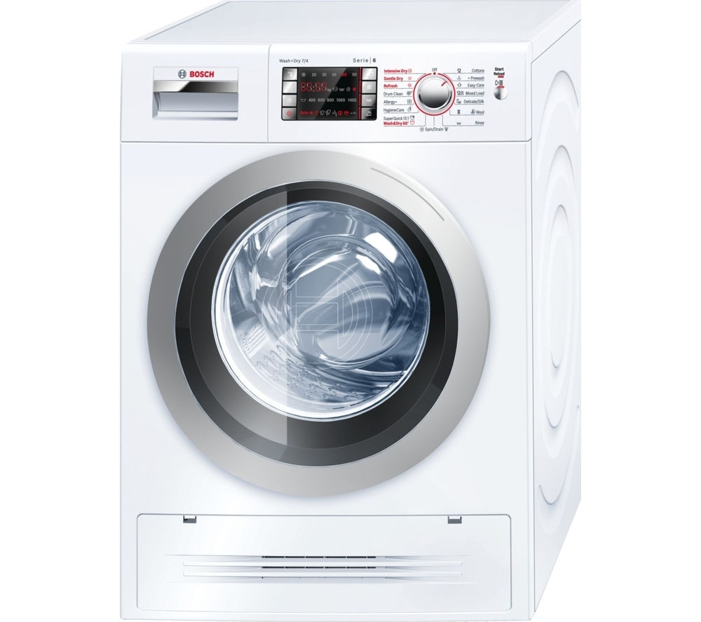BOSCH  WVH28422GB Washer Dryer  White White