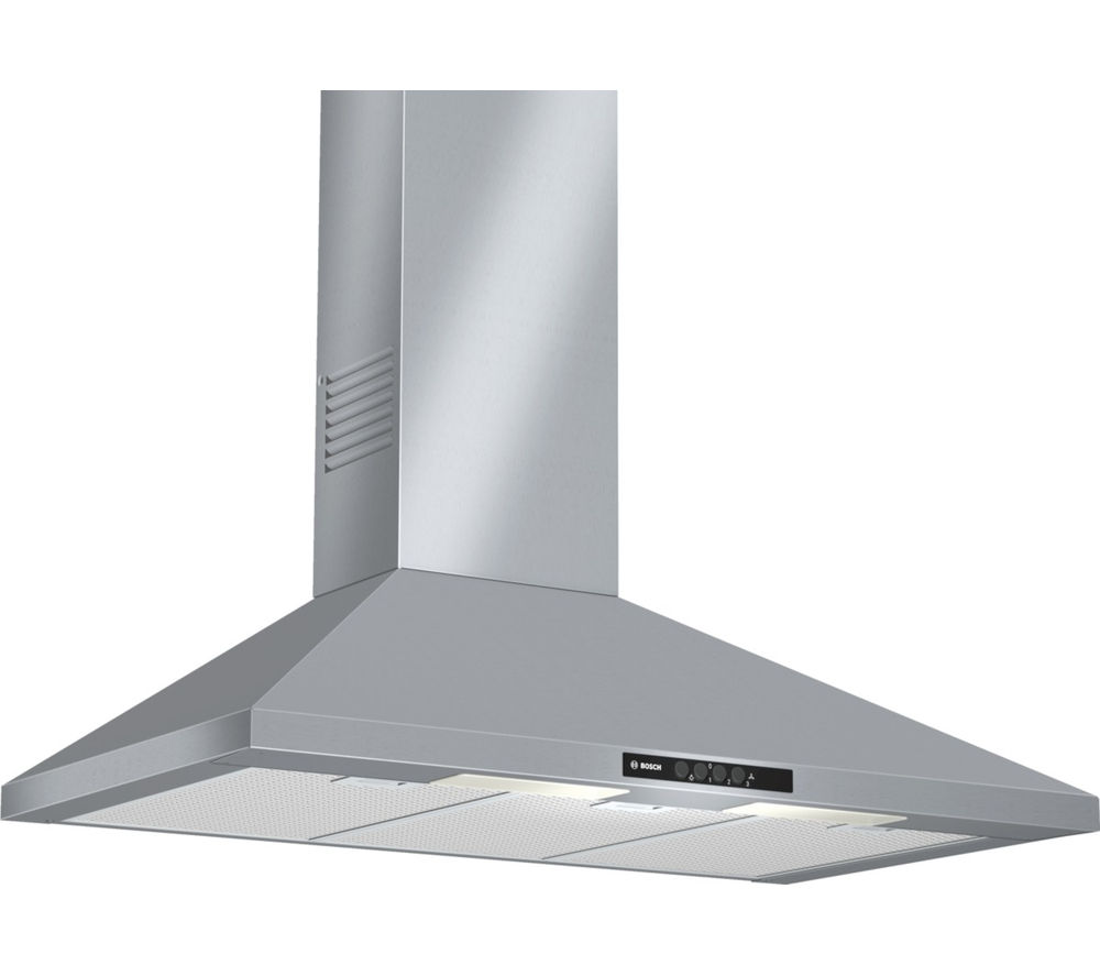 Buy bosch dww09w450b chimney cooker hood stainless steel - Hotte de cuisine stainless ...