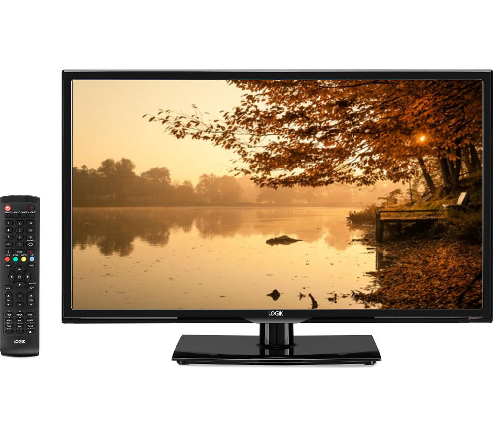logik l24hed16 24 led tv with built in dvd player deals pc world. Black Bedroom Furniture Sets. Home Design Ideas