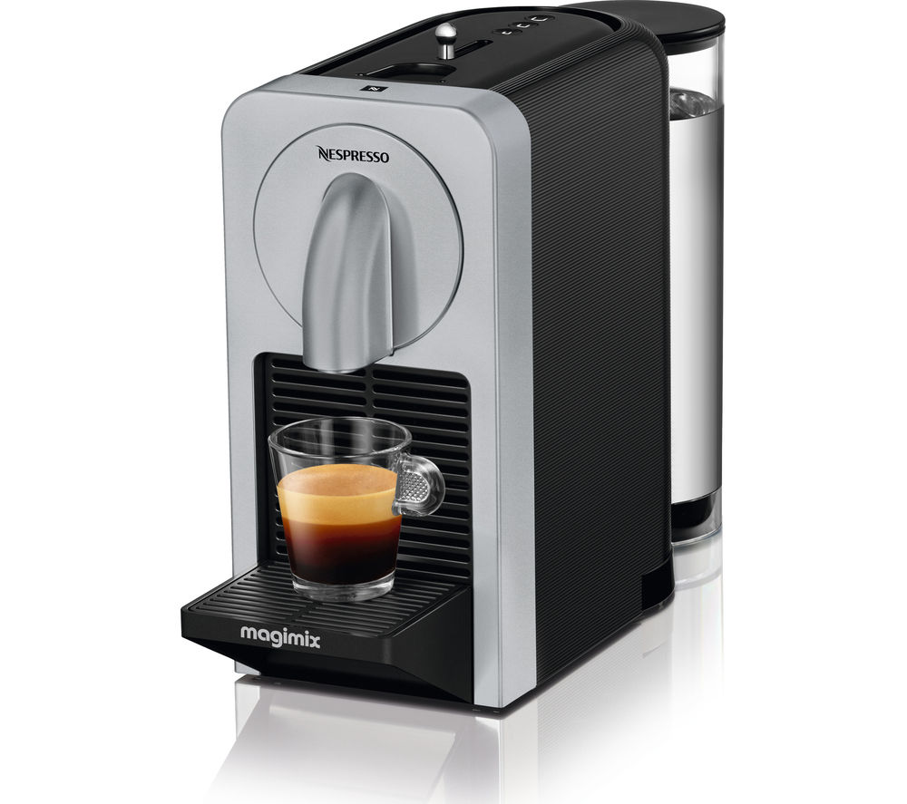buy nespresso by magimix prodigio 11375 smart coffee machine silver free delivery currys. Black Bedroom Furniture Sets. Home Design Ideas