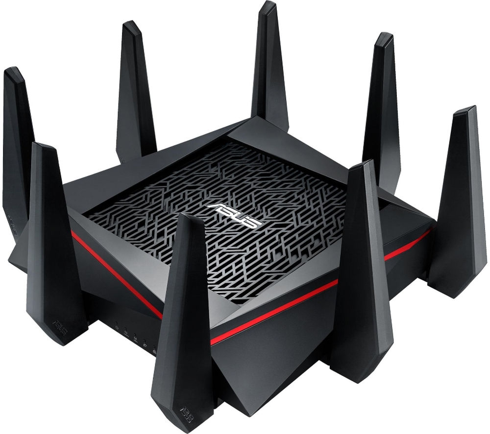 ASUS RT-AC5300 Wireless Cable & Fibre Router - AC 5300, Tri-band