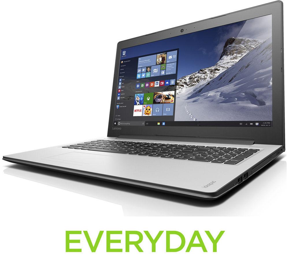 """Image of Lenovo IdeaPad 310 15.6"""" Laptop - White"""