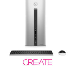 HP Pavilion 550-276na Desktop PC - Silver