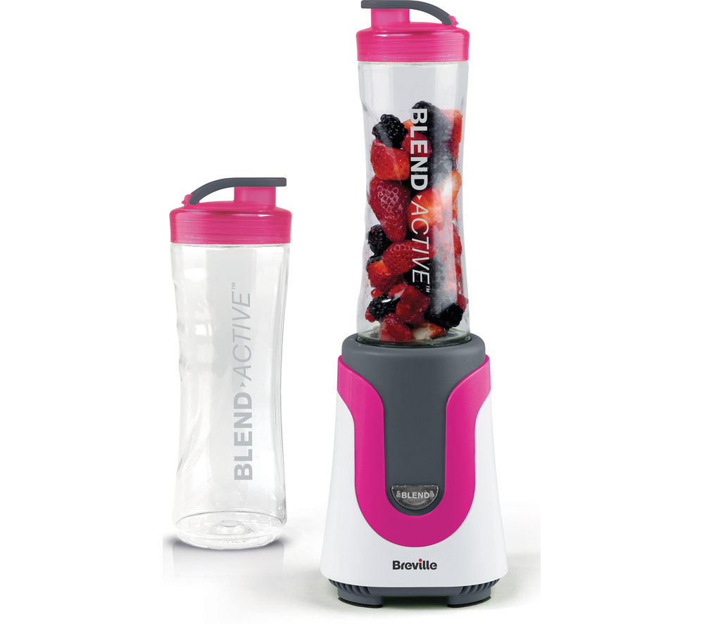 Buy breville vbl134 blend active blender pink free for What brand of blender is used on the chew